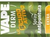 Vape Derm Scudo Attivo, nuovo spray protegge dalle punture qualsiasi tipo insetto