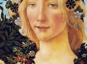 Schema punto croce: Flora particolare della Primavera Botticelli