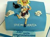 laurea jessica!! torta graduate cake!!!