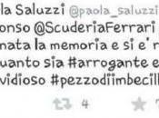 Alonso insultato dalla Saluzzi