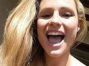 Michelle Hunziker arriva Instagram selfie...