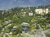 Arte natura scena giardini sissi. stagione inizia land