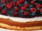 torta frutti bosco classico tipicamente estivo.