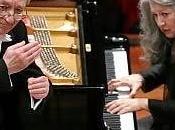 Yuri Temirkanov Martha Argerich. Roma, Accademia Nazionale Santa Cecilia, aprile 2015