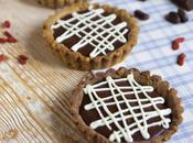 Crostatine senza glutine crema Fondente Namelaka bianca