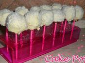 Cake Pops ricoperti cioccolato bianco cocco