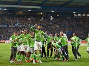 Arminia Bielefeld-Wolfsburg 0-4: finisce favola Arminia, Lupi finale Dortmund