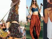 Coachella 2015 outfit tendenze: Kendall Jenner Chiara Ferragni