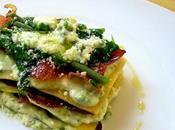 Lasagne PIACERI MEDITERRANEI asparagi, speck crescenza