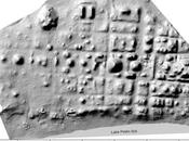 Nixtun-Ch'ich, città Maya planimetria particolare