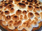 Crostata ferrero rocher meringata