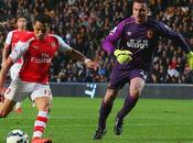 Hull City-Arsenal 1-3: Gunners record, City agganciato