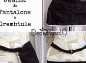 Refashion jeans: pantalone grembiule, anche senza cucire