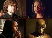 SPOILER Flash, Agents SHIELD, Scandal, TVD, Homeland, Finding Carter, Game Thrones solo
