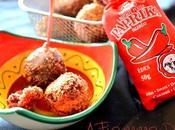 Polpette rosse vegan fagioli azuki paprika