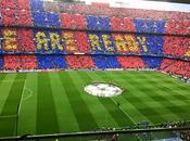 (VIDEO)Barcellona fans choreography Bayern Monaco UEFA Champions League Semi-Final 6.5.2015