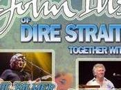 """Celebrating Music Dire Straits"" Phil Palmer alla chitarra, Collins sax, Danny Cummings batteria"