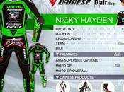 Dainese Racing Suit Nicky Hayden 2015