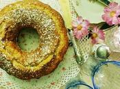 Ciambella alla ricotta pistacchi Donut with pistachios