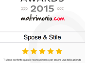 SPOSE&STILE... L'Atelier vince ancora Wedding Awards matrimonio.com!