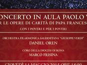 Grande evento musicale Vaticano