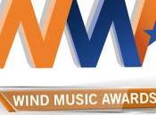 Eros Ramazzotti primi artisti premiati palco WIND MUSIC AWARDS giugno all'Arena Verona diretta