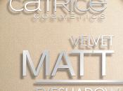 Velvet matt eyeshadow vanillaty fair catrice