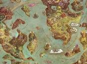 mappa delle terre leggendarie