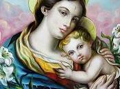 Schema punto croce: Madonna Bambino- (Francesco Pezzella)