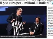 Quello renzismo dice (113) Sull'indecorosa marchetta elettorale L'ARENA Matteo Renzi perché meglio vecchia Tribuna Politica.