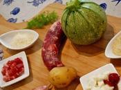 Stuffed Zucchini Zucchina tonda ripiena