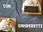 Onigiri gamberetti edamame Shrimps onigiri