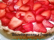 Biscotto panna fragole