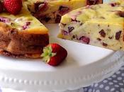 Torta Ricotta Fragole Cioccolato Latte