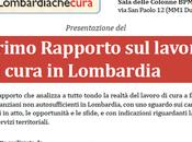 Primo Rapporto LAVORO CURA Lombardia Scambi Prospettive, MAGGIO 2015