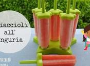 Ghiaccioli fatti casa senza zucchero: ghiaccioli all'anguria super rinfrescanti!