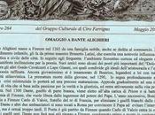 Omaggio Dante Alighieri organizzato Gruppo Culturale Ciro Ferrigno Piano Sorrento (NA)