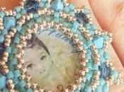 """Anello """"Tiffany"""" primo esperimento Embroidery"""