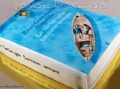 Torta libro, cake book: tartarughe tornano sempre