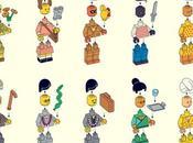 personaggi Anderson formato LEGO