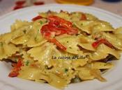 Primi: Pasta peperoni pancetta cremosa