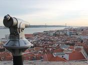 Lisbona dall'alto: Miradouro Santa Luzia Castello Jorge.