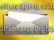 Cittadinanza Digitale Lettera Aperta