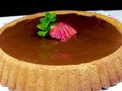 tavola ruggeri|crostata crema pasticcera cioccolato fondente