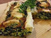 tavola Ruggeri|tarte asparagi burrata cicoria pecorino