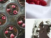 Muffin cioccolato lamponi freschi Raspberries chocolate muffins