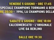 #SkyTorniamoABerlino, marcia verso finale Juventus-Barcellona