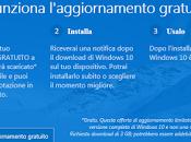 Prenotabile l'aggiornamento Windows