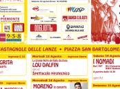 Festival Contro Castagnole (Asti): BATTIATO, NEGRITA, MARRACASH, MORENO, NOMADI