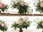 Alzatina legno fiori